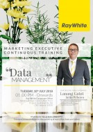 Our Marketing Manager being a speaker to Sharing about Data Management on 10 July 2018