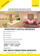 OPEN HOUSE APARTMENT CAPITAL RESIDENCE - SCBD